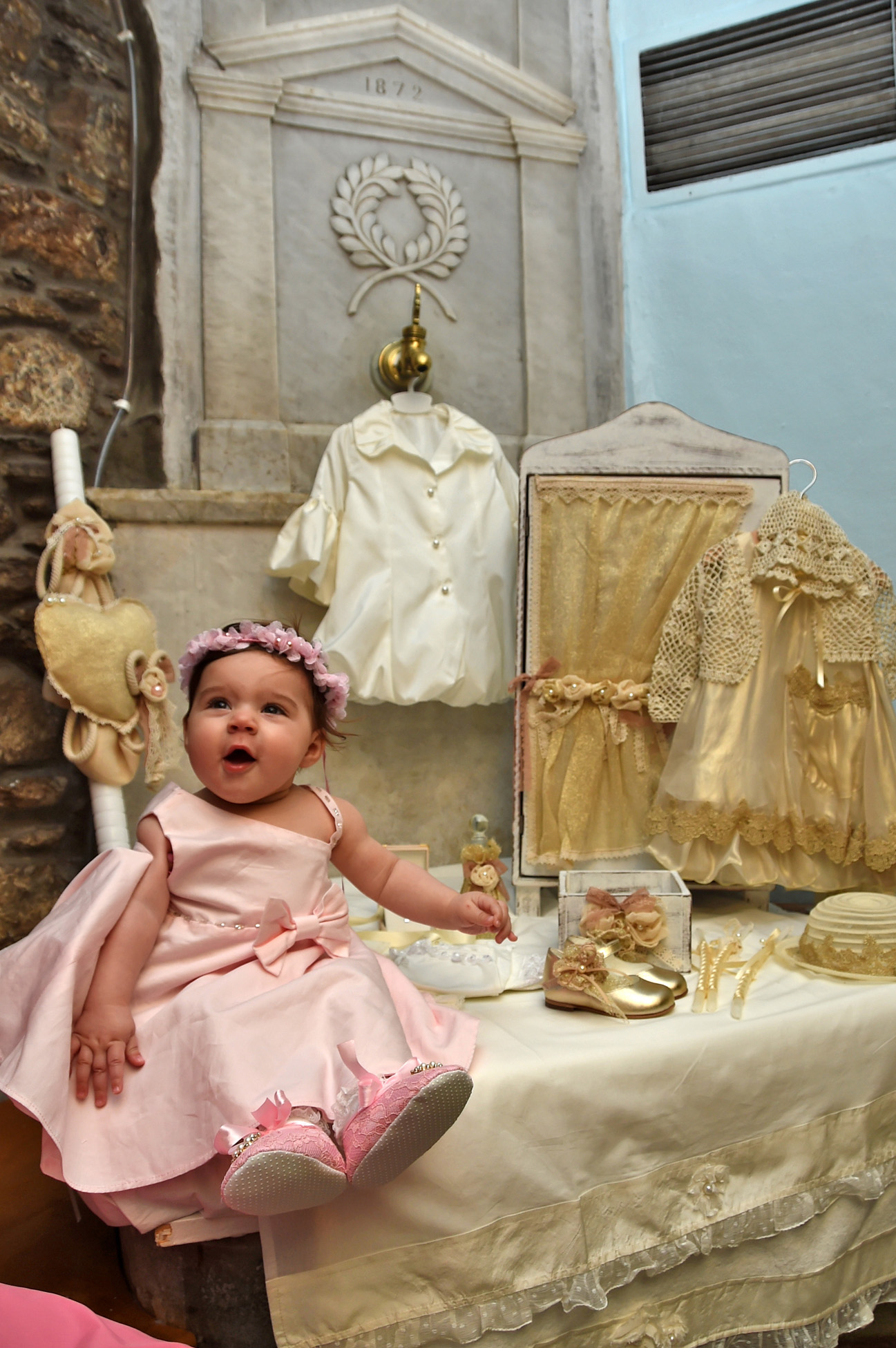 βαπτιση στη Μεγαλοχαρη τηνου